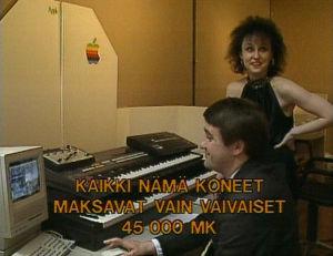 Toisessa Amsterdam-specialissa esiteltiin viimeistä huutoa olevaa tietokonemusiikkilaitteistoa.