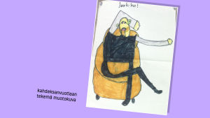 Kuvataideraati arvioi lasten piirrokset