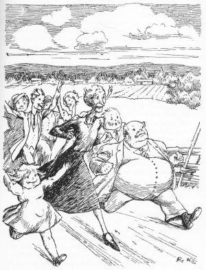 Kiljusten vallankumouksessa Kiljuset juoksevat Helsinkiin.