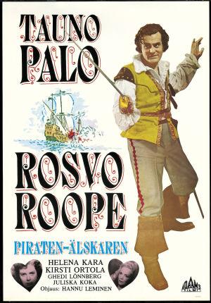Rosvo Roope -elokuvan juliste (1949).