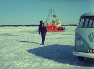 Postin toimintaa Lounais-Suomessa 1973.