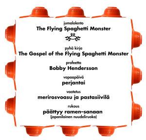 pastafari, dogma, church of the flying spaghetti monster, oppi
