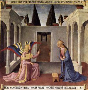Fra Angelico: Marian ilmestys