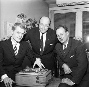 Lasse Mårtenson, George de Godzinsky och Aarno Walli