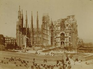 Valokuva Sagrada Familiasta 1906