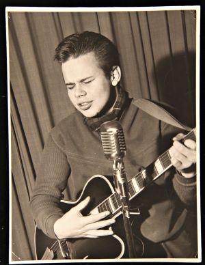 Rock-Jerry, Suomen ensimmäinen rock-kuningas, vuonna 1959