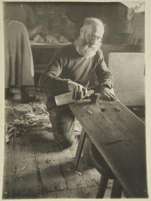 Pekka Rissanen tekee umpivettä (1927)