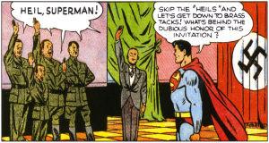Superman vs Hitler