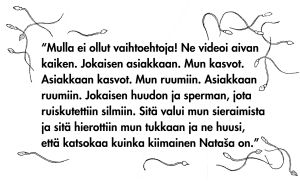 sitaatti, Sofi Oksanen, puhdistus, raiskaus, WSOY