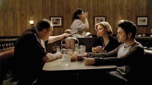 sista scenen i TV-serien Sopranos