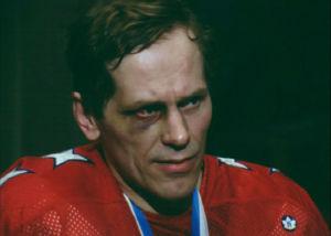 Esa Peltonen haastattelussa SM-voiton jälkeen (1980).