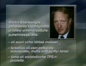 Urheiluruudun grafiikkaa elokuussa 1994.