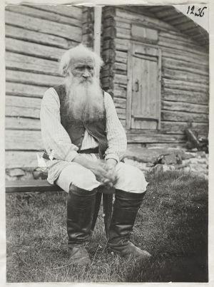 Runonlaulaja Petri Shemeikka (1907)