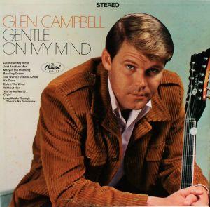 Glen Campbell, Gentle On My Mind, skivomslag