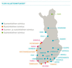 Ylen aluetoimitukset, 2015