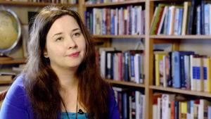 Kirjailija Miina Supinen.