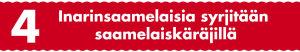 Inarinsaamelaisia syrjitään saamelaiskäräjillä