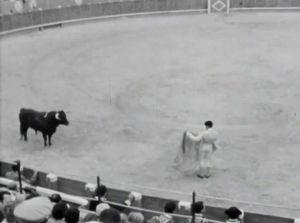 Härkätaistelu Espanjasaa Rondan kaupungissa (1969).