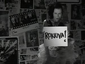 Heli Nevakare Rockstop-ohjelmassa vuonna 1990.