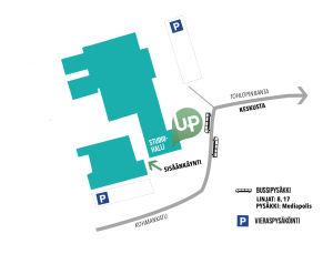 UPlive opastuskartta 11.6.2016