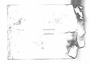"""Ett kuvert där det står """"Poliisilaitos Pietarsaari""""."""