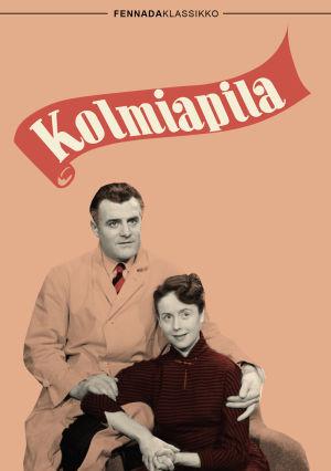 Kolmiapila-elokuvan dvd-kansi (2015).
