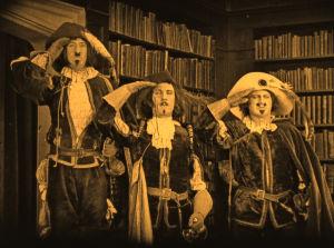 Kuva elokuvasta Kolme muskettisolttua