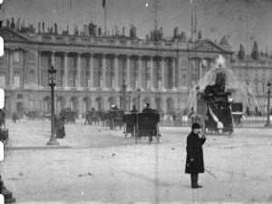 Kuva Lumièren elokuvasta vuodelta 1896.
