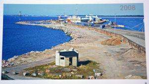 Bild från Hangö hamn. Året är 2008.