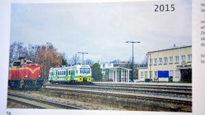 Hangö järnvägsstation 2015.