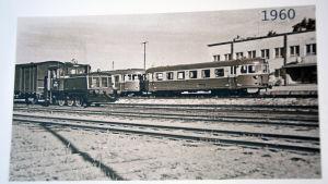 Hangö järnvägsstation 1960.