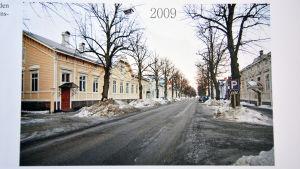 En bild från Bulevarden i Hangö. Bilden är från 2009.