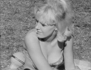Galluphastattelu puistossa. Naiselta kysytään ovatko suomalaiset miehet kesäisin flirttailevia.