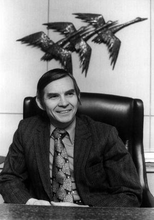 Toimitusjohtaja Kalle Anttila 1970.