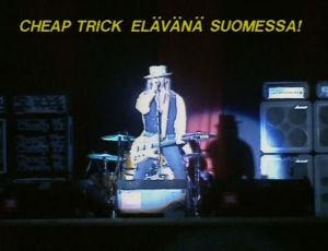 Cheap Trick esiintyy Nummirockissa 1989.
