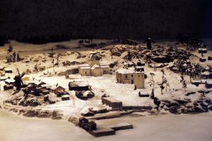 Miniatyrmodell av Helsingfors anno 1739-1742, 1991