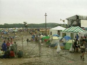 Yleiskuvaa Woodstockista vuodelta 1994.