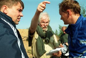 Pekka Valkeejärvi ja Janne Reinikainen Timo Bergholmin ohjauksessa (2001).