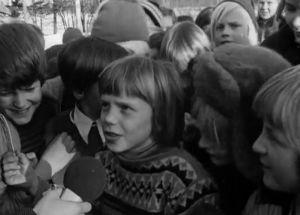Pirkkalan peruskoulun oppilaita (1973).