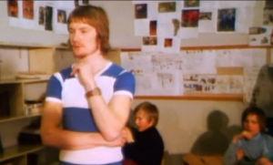 Pirkkalan koulukokeilu käynnissä (1975).