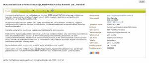 Työpaikkailmoitus TE-palveluiden verkkosivuilla.