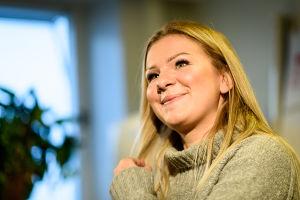 Luciakandidat Ella Ukkonen.