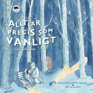"""Pärm till boken """"Allt är precis sok vanligt""""."""