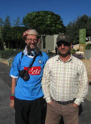 Hizbollahin vastarintamuseon opas ja Matti Rämö