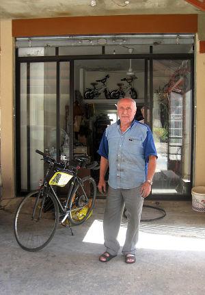 Polkupyörämekaanikko Jezzinessä