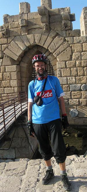 Rämö Sidonissa ristiretkeiläisten linnakkeen edustalla