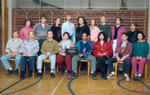 Skolfoto (iscensatt), Yle 1993