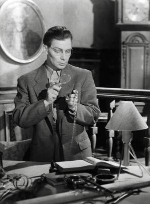 Toivo Mäkelä elokuvassa Noita palaa elämään (1952).