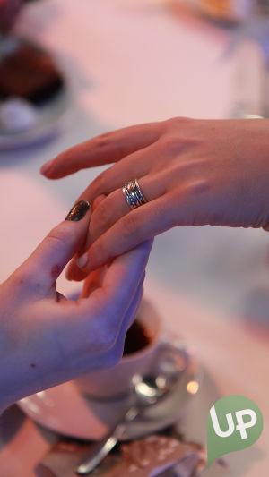Vilman ja Janin häät, Vilman sormus