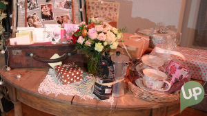 Vilman ja Janin häät, lahjapöytä